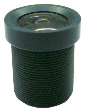 3.6mm F1.8 1/3 Big Lens Mono-focal Lens for CCTV