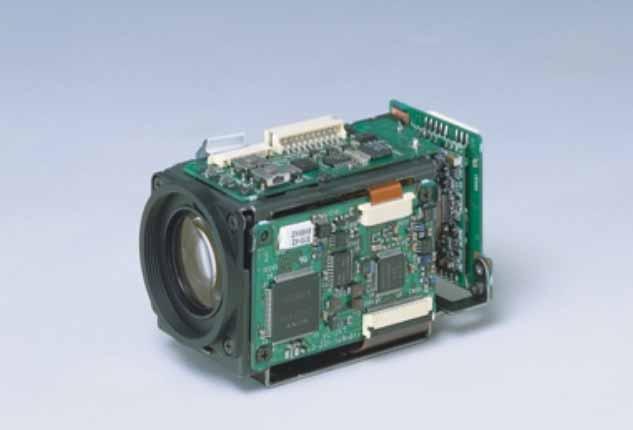 SONY FCB-IX10 NTSC SYSTEM CCD 10x MINI Zoom Camera Modules