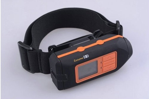 Waterproof Camera HD 1080P Helmet Sport Mini DVR Camera Monitor