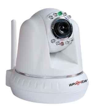 Newest 1/4 CMOS Sensor IR-COT WIFI M-JPEG IP Camera