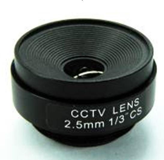 2.5mm Manual Zoom CCTV Lens Board Camera True F1.6