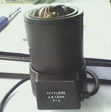 CCTV 2.8-12MM CS F1.4 AUTO ZOOM Focus DC Aperture LENS