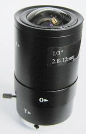 CCTV CS Camera 2.8-12 mm F1.4 Manual Zoom Manual Aperture Lens