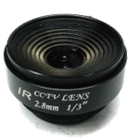 F1.6 2.8mm Fixed Aperture MANUAL Zoom CCTV Camera Lens