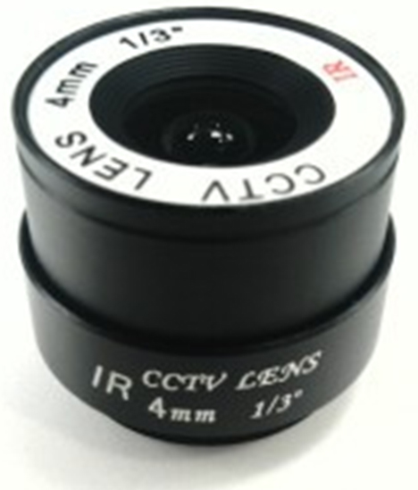 Mount Fixed 4mm F1.6 CCTV Lens for Box Camera