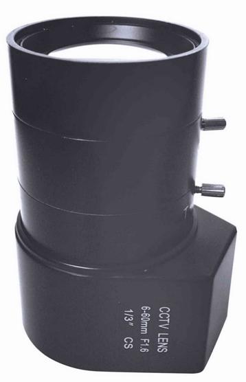 6-60mm Manual Zoom CCTV Lens For Board Camera F1.4