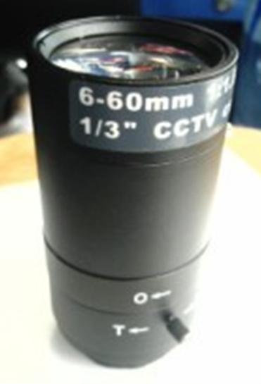 CCTV CS Camera 6-60 mm F1.4 Manual Zoom Manual Aperture Lens