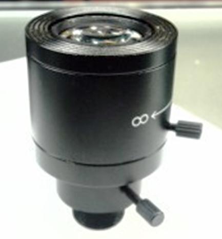 9-22mm Manual Zoom CCTV Lens For Board Camera True F1.6