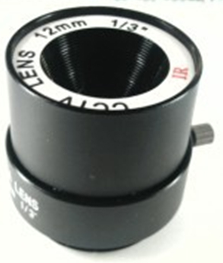 Mount Fixed 12mm F1.6 CCTV Lens for Box Camera
