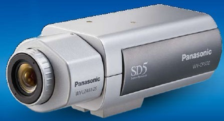 Panasonic WV-CP504L Super Dynamic 5 Day/Night Fixed Camera